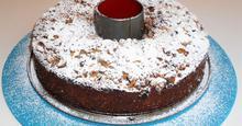 Γεμιστό Κέικ Ολικής,με Κράμπλ (Χωρίς Μίξερ) No mixer,Whole wheat,Cinnamon Crumble,Filled Cake