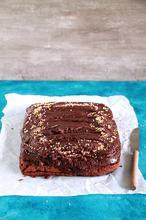 Σοκολατένιο κέικ με φυστικοβούτυρο - The one with all the tastes