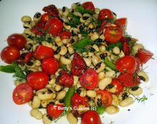 Μαυρομάτικα με ντοματίνια, λιαστή ντομάτα και μάραθο
