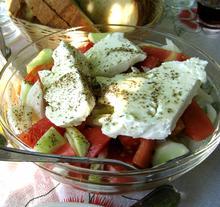 Greek Salad/ Ντοματοσαλάτα χωριάτικη
