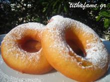 Ντόνατς σπιτικά