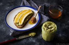 Σπιτικό Ταχίνι με Τσάι Μάτσα – Raw Homemade Matcha Tahini - The Healthy Cook