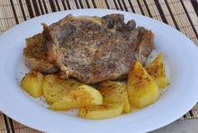 Μπριζόλες λεμονάτες φούρνου - Συνταγές Μαγειρικής - Chefoulis