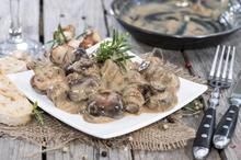 Μανιτάρια αλα κρέμ - Συνταγές Μαγειρικής - Chefoulis