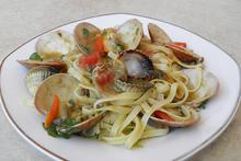 Tagliatelle with seafood - Recipes - Chefoulis