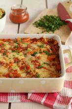 """Ελαφριά μεξικάνικα """"λαζάνια"""" τορτίγιας με λαχανικά - The one with all the tastes"""