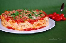 Μακαρόνια φούρνου με ντομάτες/Baked Pasta With Tomatoes