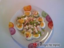 Αυγοσαλάτα με φέτα
