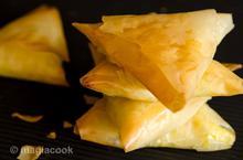 Τυροπιτάκια με φύλλο κρούστας | magiacook