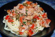 λιγκουίνι με τόνο/Linguini With Tuna