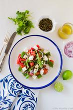 Σαλάτα με Καρπούζι και Φέτα – Watermelon & Feta Salad - The Healthy Cook