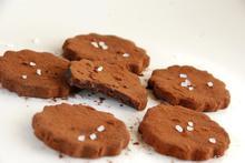 Σοκολατάκια με καραμέλα γάλακτος και αλάτι