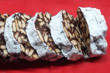 Greek banana mosaiko ( Greek chocolate,banana and biscuits dessert ) - Recipes - Chefoulis