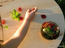 Σπιτικές λιαστές ντομάτες-Homemade sun dried cherry tomatoes