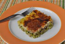 Ground beef with green peas - Recipes - Chefoulis