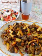 Τηγανιά λαχανικών με κουρκουμά... ο καλύτερος μπυρομεζές