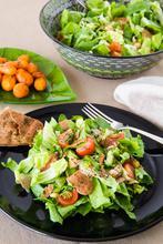 Σαλάτα με Ρεβίθια και Καροτάκια Γλασέ – Chickpea Salad with Glazed Carrots - The Healthy Cook