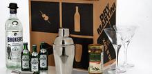 Συνταγή: Coctail dry martini, με martini, τζιν, ελιές, πάγο