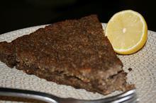 Ψητό Kibbeh, αρνίσιος κιμάς με κρεμμύδια, κουκουνάρια και μπαχαρικά