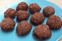 Milk chocolate truffles - Recipes - Chefoulis