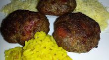Μπιφτέκια στο φούρνο με μπέικον