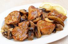 Ψαρονέφρι με μανιτάρια - Συνταγές Μαγειρικής - Chefoulis