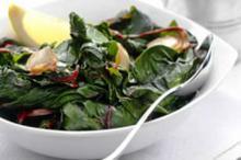 Καταπράσινα βρασμένα λαχανικά