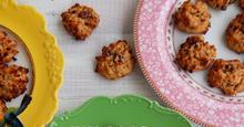 Μαλακά μπισκότα με βρώμη, φουντούκια, ταχίνι και κράνμπερις (Χωρίς Ζάχαρη)