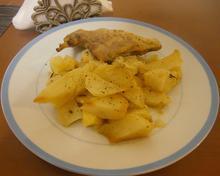 Κουνέλι στο φούρνο με πατάτες