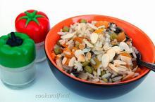ρύζι με λαχανικά / Vegetable Rice