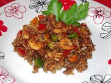 Rice and Seafood Salad/Ρυζοσαλάτα με θαλασσινά