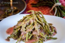 Σπαράγγια με σως λεμόνι ή ξύδι | magiacook