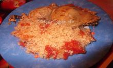 Κοτόπουλο με πλιγούρι στο φούρνο |