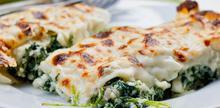 Συνταγή: Κανελλόνια με σπανάκι, τυρί και μπεσαμέλ