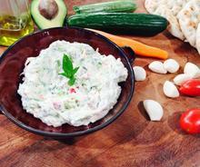 Τζατζίκι λαχανικών της Αργυρώς