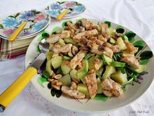 Ζεστή Πατατοσαλάτα Με Κοτόπουλο/Hot Chicken And Potato Salad