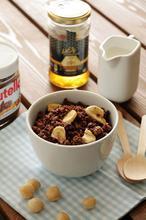 Γκρανόλα με μπανάνα και nutella - The one with all the tastes