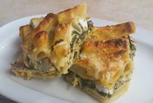 Ριγκατόνι με σπανάκι και κοτόπουλο - Συνταγές Μαγειρικής - Chefoulis