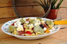σαλάτα με τορτελίνι και αγκινάρες/Tortellini And Artichoke Salad