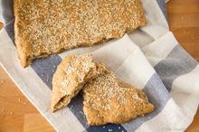 Λαγάνα Ολικής Άλεσης – Whole Wheat Lagana - The Healthy Cook