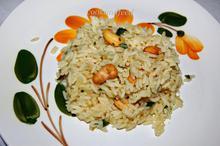 ρύζι με κάσιους/cashew rice