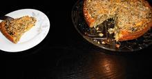 Τάρτα Κουρού Χωρίς Γλουτένη,Με Σπανάκι και Τυριά Gluten Free Tart with Spinach and Cheese