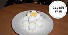 Αφράτοι Κουραμπιέδες Χωρίς Γλουτένη Gluten Free Christmas Butter Cookies