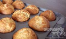 Μάφινς (muffins) μπανάνας