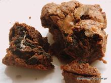 Ένα σοκολατένιο μπράουνις με oreo για την μανούλα μου-A choco brownies for my mommy