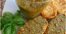 Pesto πράσινης ελιάς