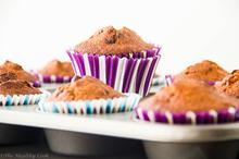 Banana & Chocolate Muffins – Υγιεινά Μάφινς Μπανάνας με Σοκολάτα - The Healthy Cook