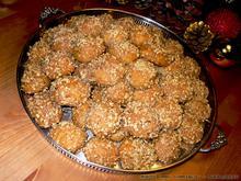 Συνταγή για παραδοσιακά Μελομακάρονα με κονιάκ