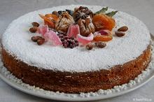 Χριστουγεννιάτικο κέικ με amaretto