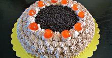 Παντεσπάνι Βανίλια και Στολισμός Τούρτας Greek Sponge Cake and Cake Decoration